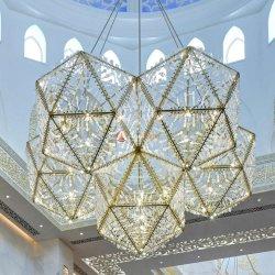 Eigenartige und schöne Glaslampe, die Erscheinen-künstlerisches Gefühl formt