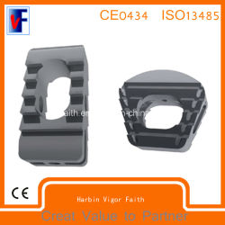 Zervikales Fusion Cage, Thoracic und Lumbar Fusion Cage, Orthopedics Implant, Spine Fixation, Spine Fusion Cage, Solis