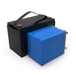 12V 100ahの再充電可能な太陽リチウムイオン電池の太陽パックの深いサイクルLiFePO4 12V
