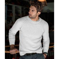 2020 새로운 고품질 가을과 겨울 우연한 남자의 태양열 집열기 니트 스웨터 스웨터