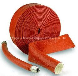 Hittebestendige beschermingsbuis voor hittebestendige draad, bestand tegen hoge temperaturen Isolatiehuls voor slangen in bakrood