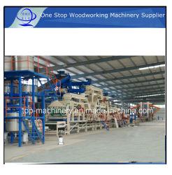 HDF-Produktionsanlagen/ Hydraulikpalette Aus Komprimiertem Holz für MDF-Türhaut/ Heißpresse für mehrere Anwendungen für Sperrholzwerke, Automatische Türlinie