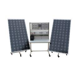 Fotovoltaïsche systeem off Grid Trainer Teaching Equipment Educatieve fotovoltaïsche generator Trainingssysteem