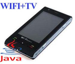 четырехдиапазонный TV WiFi Qwerty мобильного телефона (C5000)