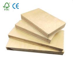 C/D Grad-wasserdichte vorher abgeschlossene Birke stellte Furnierholz-Pappel-Kern für Möbel/Küche-Schränke gegenüber