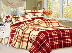 Purple Series Printed Textile Fabric, Bed Sheet Fabric, Polyester Fiber Fabric, Zhejiang Changxing Wandu Textile Company 3D