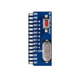 局域内制御を用いるモジュールを受け取る4チャネルスイッチ値RF