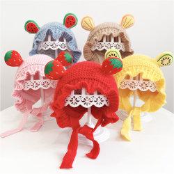 2020 Зимние цвета шерстяные вязаные теплые шапки для вашего малыша и детей