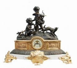 Orologio Bronze della statua (S3050-1)