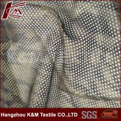 Stof de van uitstekende kwaliteit van het Netwerk van de Polyester 60GSM 100% voor de Toebehoren van het Kledingstuk van het Kledingstuk van Jersey/de Stof van Af:drukken