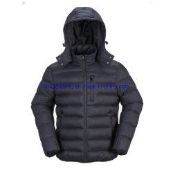 普及した余暇のナイロン軽い偽造品のキルトにされた人の冬の屋外のWorkwearのジャケット