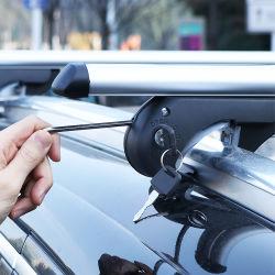 С помощью стопорных универсальные специализированные 4X4 регулируемый алюминиевый поручень на крыше автомобиля Поперечина для установки в стойку для Toyota RAV4 KIA Sportage Honda CRV 2020