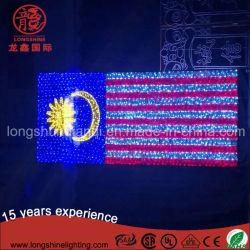 관례는 LED 말레이지아 중동 국가 미국에 국경일을%s 빛을 표시한
