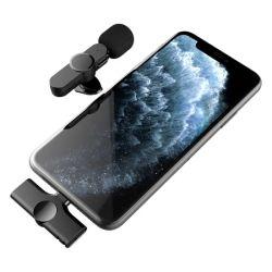 새로운 무선 라디오 라발리에 마이크, Bluetooth 연결, 인터넷 유명인 휴대폰 K 송 라이브 소형 마이크