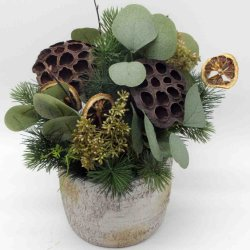نبات فخار صغير من نبات الفخار الصناعي من نبات الخزامى زهرة الخزامى الاصطناعية