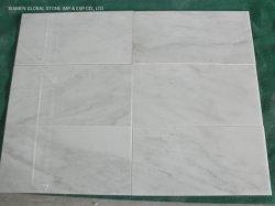 Este color blanco/blanco/blanco cristal blanco orientales/Línea Especial de mármol pulido/origen chino de la pared de mármol blanco/Piso Decoración