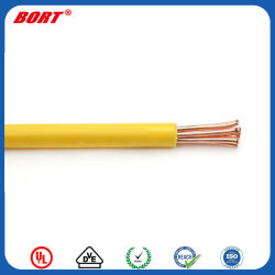 Style UL1185 300V sur le fil électrique en cuivre simple coeur avec gaine en PVC de Rosh certifié pour le câblage des composants internes de l'électronique générale