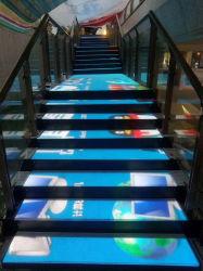 Stade de plancher de danse interactive, plein d'écran LED de couleur la Carte Affichage P et P4.813.91mm