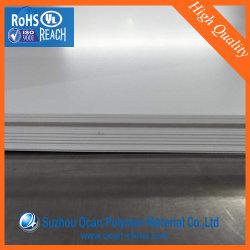 1mm Blanc Brillant Feuille en PVC pour panneau décoratif