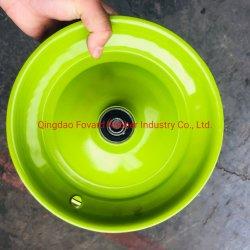 A cor verde Aro de Aço com 6202 tendo usado na Roda Wheelbarrow 4.00-8