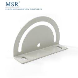 Direction de la plaque en acier robuste plaque de raccordement 30 40 pour aller de l'Extrusion de pipeline en aluminium de couleur grise