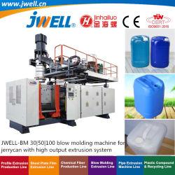 Jwell-Bm30|50|15-100L JerrycanのOpen-Topバレルおよび他で使用される農業のブロー形成機械をリサイクルする100 HDPEのプラスチック化学包装の製品