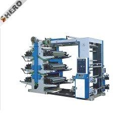 좁은 웹 더미 유형 8 6개의 기계를 인쇄하는 색깔에 의하여 사용되는 중앙 드럼 Flexo