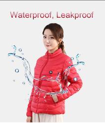 Calefacción de grafeno Down Jacket se puede personalizar la Ropa caliente