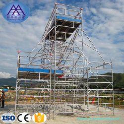 Plate-forme mobile de marche Conseil trappe 6082 échafaudage en aluminium