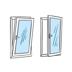 Foshan la preuve de son fabricant de verre trempé et tourner l'inclinaison de la fenêtre en aluminium pour le remplacement d'accueil