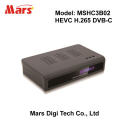 Casella superiore stabilita del montaggio 8201 HD H.264 MPEG-4 Hevc H.265 DVB-C