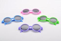 Enfants Les lunettes en plastique rond Lunettes et verres de lunettes de crapaud drôle