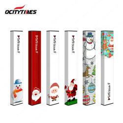 Prenda de Natal personalizado Ministick F Cheio 3% a 5% de nicotina Sal Vape descartáveis de caneta
