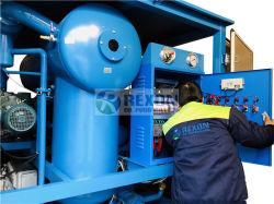 Isolation sous vide pour purificateur d'huile de transformateur de puissance de la sécurité de l'entretien
