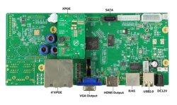 Poeの5.0MP 4チャネルNVRのレコーダーのボード