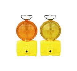 Top-Rated amarillo y ámbar intermitente Ce super brillante LED Testigo de tráfico de seguridad