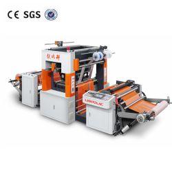 Lámina caliente automática máquina de estampado para Material Nonwoven