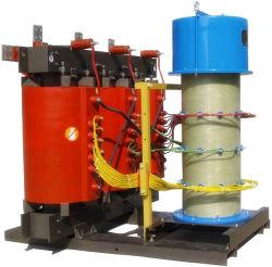 3phase transformateur de type sec, 100kVA transformateur de distribution, usine transformateur d'alimentation
