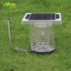 Lampada a LED per zanzara Killer 2 in 1 più in vendita Luce notturna trappola elettrica per insetti solare per esterni