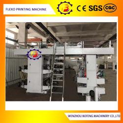 4 Цвет путевого управления SPS высокоскоростной Non-Woven джутовых мешков Flexographic печатной машины с помощью воды чернила