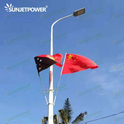 정부 프로젝트 150W 160lm/W Dimming LED Street Light Outdoor Street Light AC Power LED Lighting without Jinko Ja Solar Panel