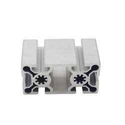 Découpage arbitraire à fente en T industriel 50100 Profil d'Extrusion de gros creux en aluminium