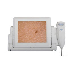 3D numérique sèche la peau du visage de la beauté de la machine de l'analyseur