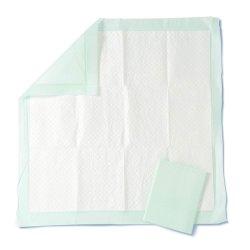 Het polymeer Beschikbare Underpad, 50 per Geval, Grote Bescherming als Stootkussens van het Bed en PLAST Stootkussens