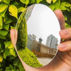 مرآة زجاجية عائمة مقاس 1,8 مم من الكروم المحدب للسيارة