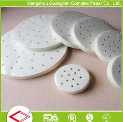 La FDA en silicone certifié parchemin cuiseur vapeur chemises papier Dim Sum