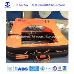 4~12 het Reddingsvlot van het Jacht van het Reddingsvlot ISO9650 van de Vrije tijd van personen