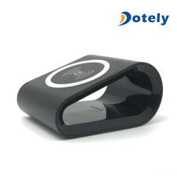 チー無線速い充満端末はSamsungのiPhone 8のための無線速い充電器を巻く