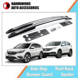 차는 자동차 부속용품 Honda 크롬 V 2012를 위한 알루미늄 루프랙을 2015 CRV 수화물 운반대 분해한다