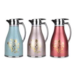 China-kundenspezifischer MetallThermos Moka Kaffee-Großhandelspotentiometer. 1.0L
